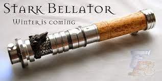 Stark Bellator lightsaber 04 | Custom lightsaber, Star wars awesome, Star  wars light saber