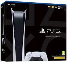 Consola Sony PlayStation 5 (PS5), 825GB, Digital Edition, (Alb) - evoMAG.ro