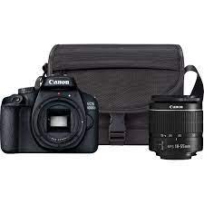 Aparat foto DSLR Canon EOS 4000D,18.0 MP, Negru + Obiectiv EF-S 18-55mm F/3.5-5.6  III Negru + Geanta Canon SB130 - eMAG.ro